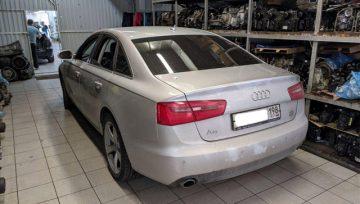 Audi A6 C7 0B5 DL501 после ремонта в мутном сервисе