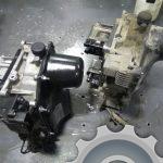 Неисправный и ремонтный мехатроник на замену