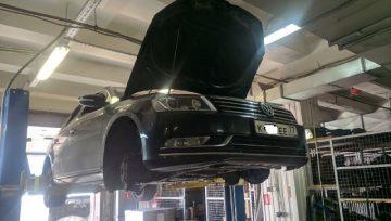 Volkswagen Passat B7 1.8TSI 2012 0АМ - течь масла из DSG7