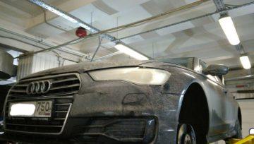 Audi A6 1.8 2015 0CK - появились вибрации на задней передаче (ошибок нет)