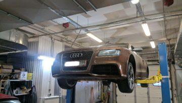 Audi RS5 0B5 - в работе