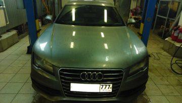 Audi A7 DL501 0B5 - в работе