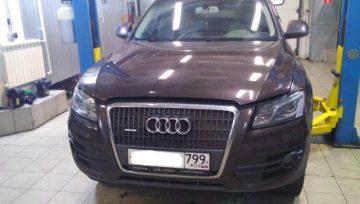 Audi Q5 DL501 - в работе