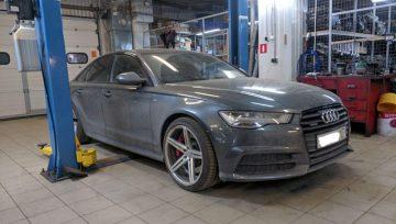 Audi A6 C7 3.0 0B5 - пинки, затупы на 5 и 6 передачах