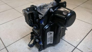 Volkswagen Polo 1.4 2010 DSG7 DQ200 0AM - коробка сломалась при движении