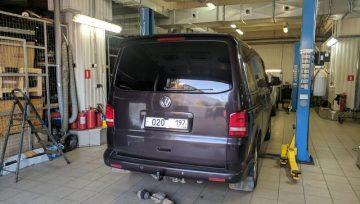 Volkswagen Multivan T5 2.0 TDi 2012 DQ500 - щелчки при включении R