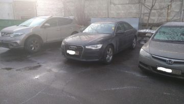 Audi A6 C7 2.0 TFSI 2012 0AW заторможенный старт