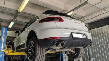 Porsche Macan S PDK - пропали четные передачи