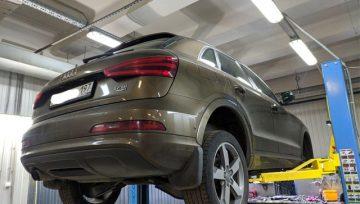 Audi Q3 DQ500 - замена сальника раздатки