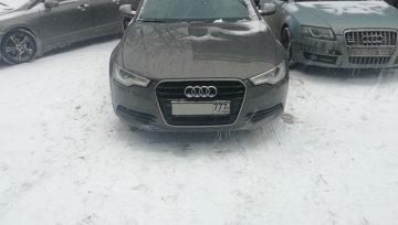 Audi A6 C7 2013 0AW - подергивания при старте